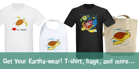 Eartha T-shirt, sweatshirts, mousepads, bags and more.